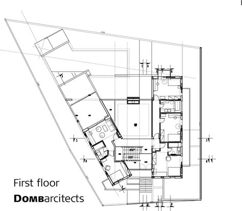 dg house domb architects architecture architectural drawings and arch modern dg house by domb architects