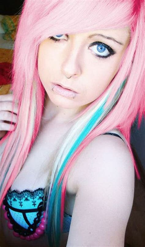 emo hairstyles for long blonde hair emo girl hairstyles for long hair and bangs