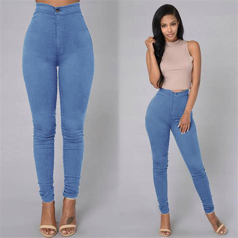 High Waist Stretch new fashion casual denim high waist