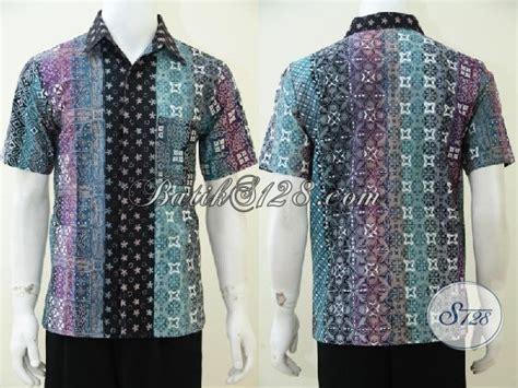 desain hem distro hem batik cap tulis motif gradasi baju batik lengan