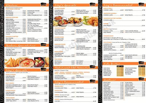 menu design and print design portfolio menu printing uk