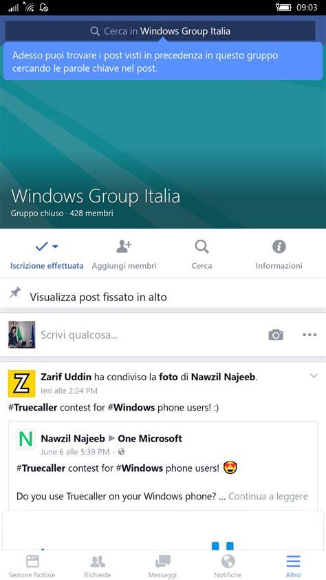 windows mobile italiano di beta per windows 10 mobile