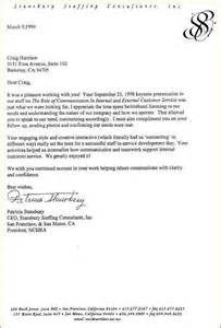 Thank You Letter Client For Positive Feedback examples of testimonial letters stansbury letter jpg