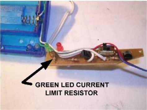 nixie current limiting resistor noah s flood alarm mod