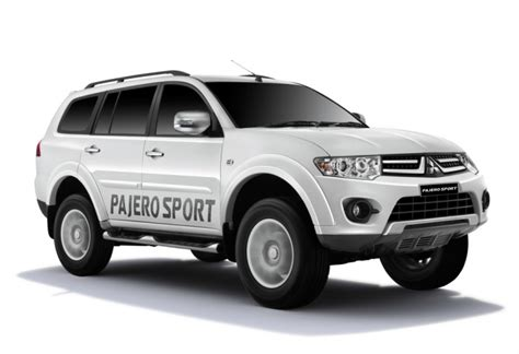 mitsubishi pajero sport suv with facelift automatic gearbox images details