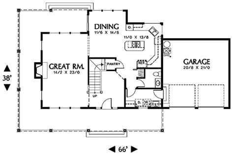Veranda Floor Plan by Country Plan With Covered Veranda 69030am 2nd Floor