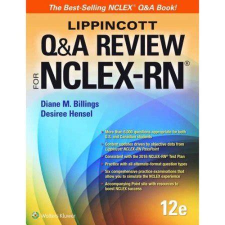 davis s q a review for nclex rn lippincott q a review for nclex rn walmart