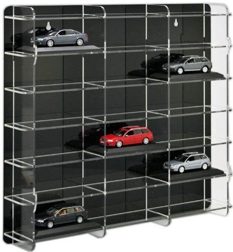 wall mounted display cabinets for model cars how to build a display case for diecast cars woodworking