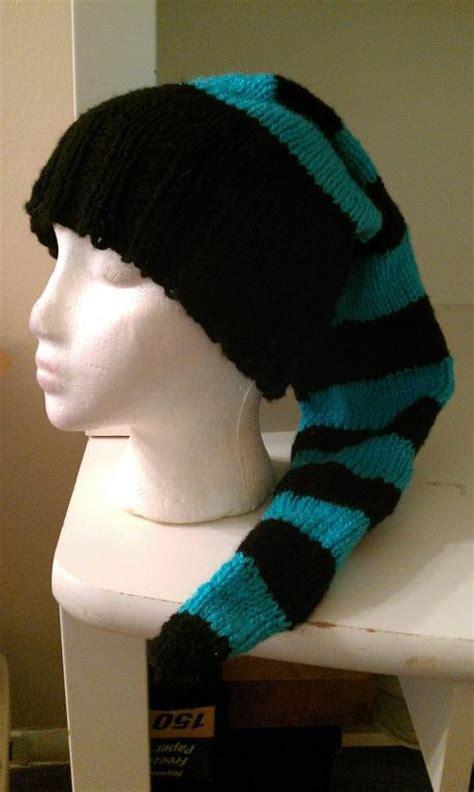 pattern stocking cap long toboggan hat stocking cap by cravencrow craftsy
