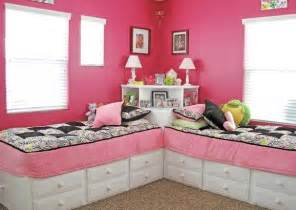 two beds in one great idea for two beds in one room use a square table in