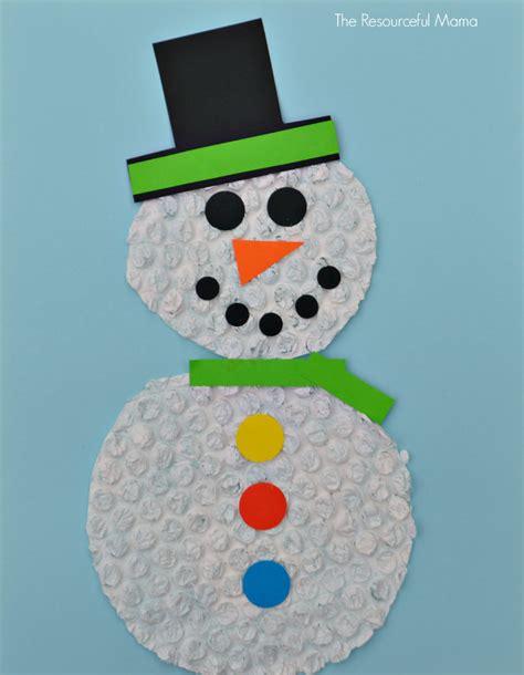 snowmen crafts for wrap snowman craft for allfreekidscrafts