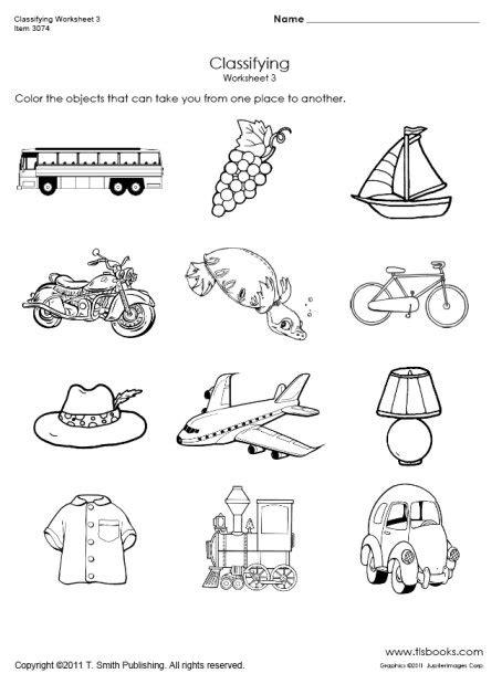 free printable preschool transportation worksheets 14 best images of printable transportation worksheets