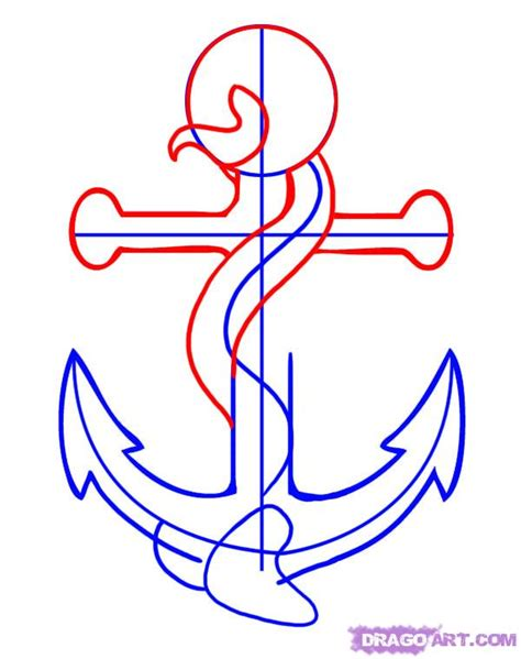 where to draw how to draw an anchor step by step tattoos pop culture
