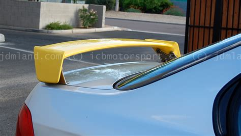 Fogl Ferio Civic 96 98 Yellow 96 00 honda civic mugen ferio wing differences 1 1 vs