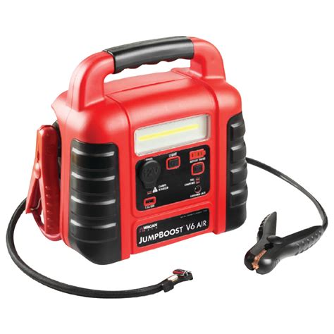 wagan tech 7552 jumpboost tm v6 air with air compressor