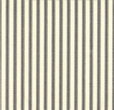 Grey Ticking Stripe Duvet Cover by Country Brindle Gray Ticking Stripe Duvet Cover