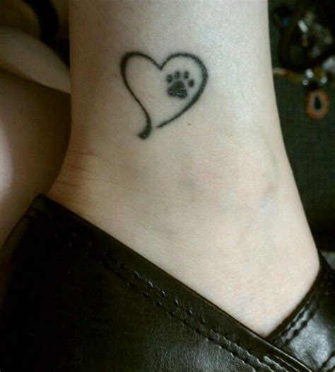 25 best ideas about pet memorial tattoos on pinterest