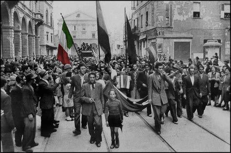 liberation day  italy april  la festa della
