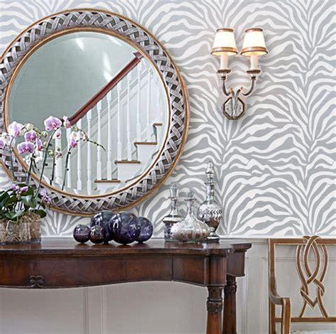 zebra pattern on wall zebra diy animal print wall geometric old world allover
