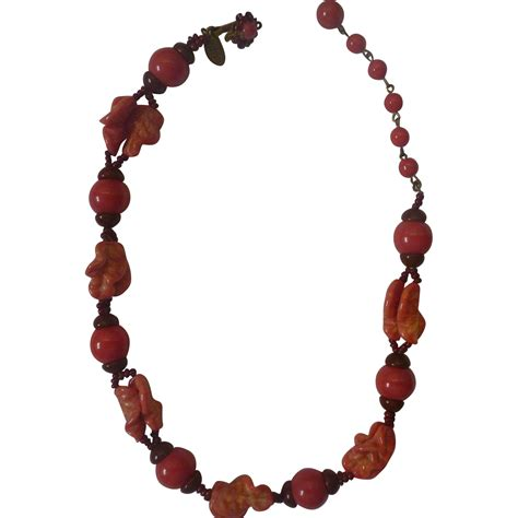 miriam haskell necklace from queenofglitz on ruby