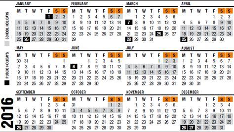 Calendar 2016 Holidays Australia 2016 Calendar Queensland With Holidays Calendar
