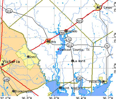 jackson county texas map jackson county texas detailed profile houses real estate cost of living wages work