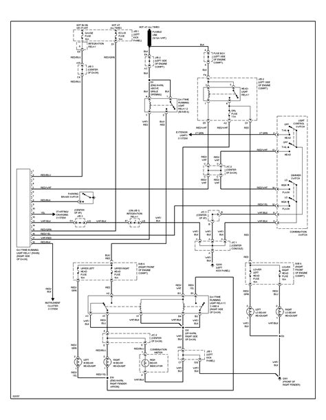 1996 toyota camry wiring diagram i a 1996 toyota corolla and both low beams went out