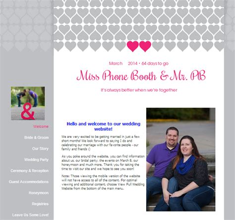 Weddingwire Wedding Website by Jotting 187 2013 187 November