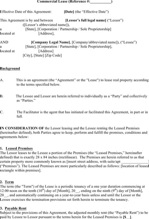 sub tenancy agreement template enterprise rental agreement templates for free