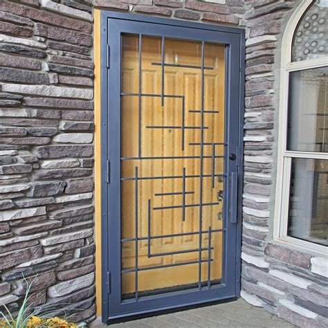 tetris exclusive security screen door door gate design