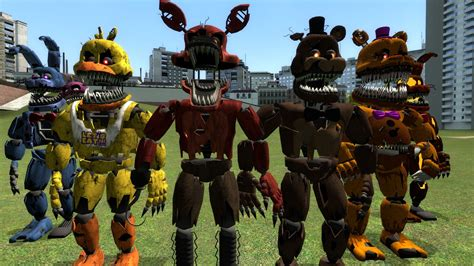 free game like garry s mod garry s mod gmod five nights at freddy s 4 fnaf 4 npcs
