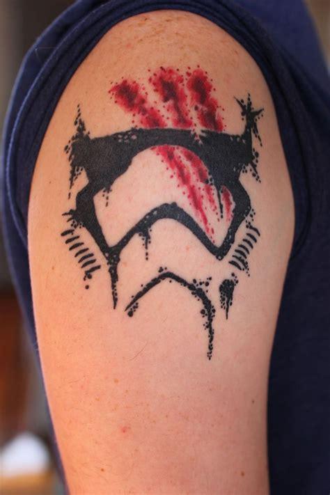 tattoo parlor gainesville ga first order stormtrooper finn helmet by eric carpenter at