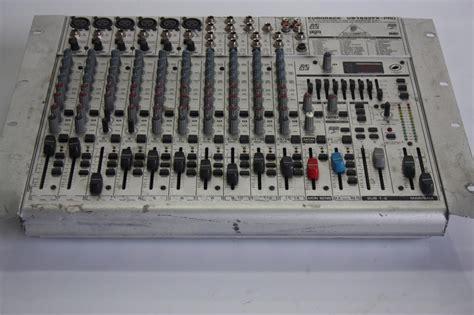 Mixer Behringer Ub1832fx Pro behringer eurorack ub1832fx pro mic line mixer ebay