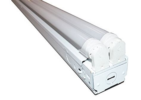 8 ft fluorescent ls 8 ft industrial retail flush mount 4 light t8 fixture w