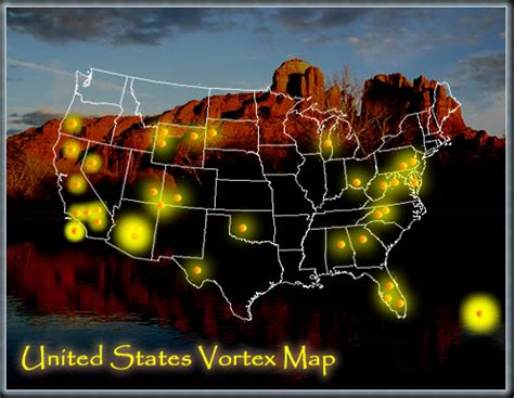 american vortex map vortexes in the united states free usa vortex map
