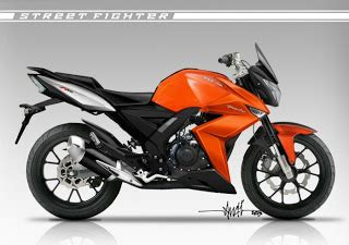 tvs apache rtr 160 street fighter modified