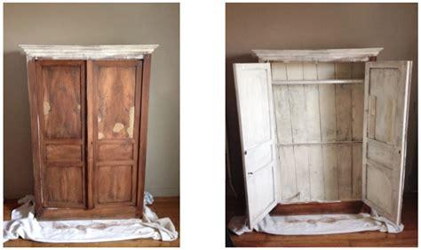 relooker une armoire en bois relooker un meuble en bois 5 diy relooker une armoire ancienne la clamartoise evtod