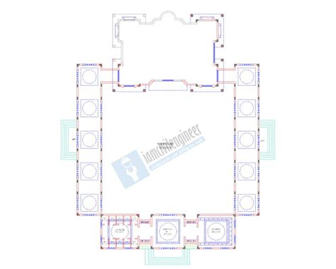 masjid design guidelines mosque architectural plans autocad dwg civil engineering