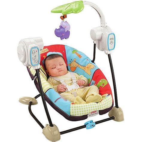 fisher price luv u zoo spacesaver swing and seat fisher price spacesaver swing luv u zoo