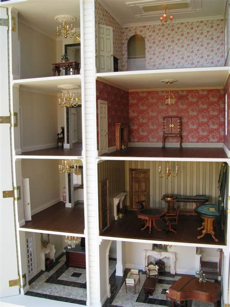 dollhouse i see dolls house hotel cross section can you see the lift