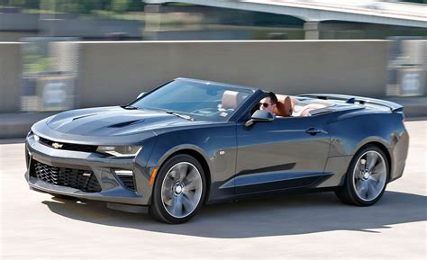 chevrolet camaro ss convertible test review car