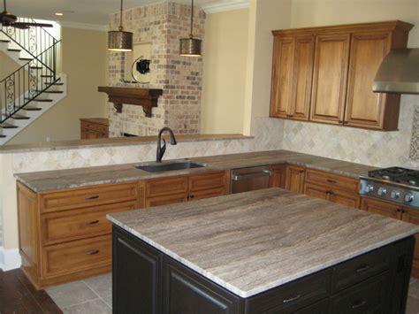 Travertine Countertops Kitchen by Kitchen 3 Cm Silver Travertine