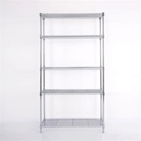 73 quot x36 quot x14 quot wire metal shelving rack 5 tier layer shelf
