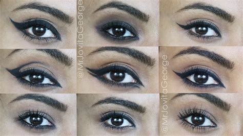 best kohl eyeliner 10 different eyeliner looks using only kohl pencil