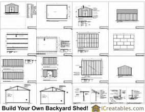 shed plans large shed plans