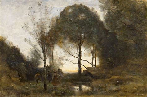peter macon painting trees in the landscape 3 corot the crossroad to modern