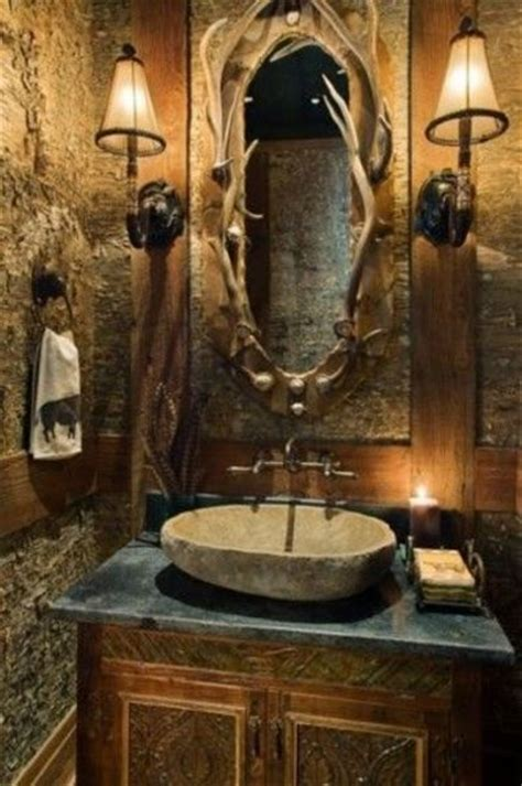 cave bathroom decorating ideas cave deer bathroom for the home juxtapost