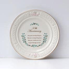 Belleek 50th Anniversary Plate Meta