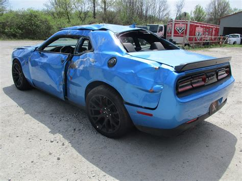 Dodge Challenger Hellcat For Sale by Update Totaled Dodge Challenger Hellcat For Sale With 18