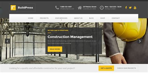 wordpress themes for house builders 50 best wordpress themes for builders contractors and